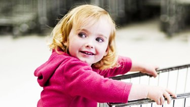 Fight back ... of 157 supermarket lines aimed at children, 76 per cent are unhealthy.