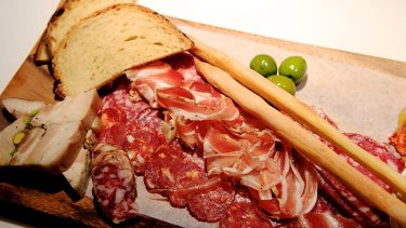 Eating for health: swap the salami.