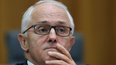A worried looking Malcolm Turnbull may have a more furrowed brow after MYEFO is released on Monday