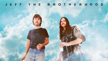 Jeff The Brotherhood's <i> Wasted on the Dream</i>.