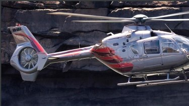 """""""My pride and joy"""": the EC135 operated by Richard Green."""