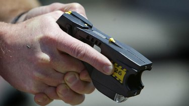 Stun guns ... illegal in Australia.
