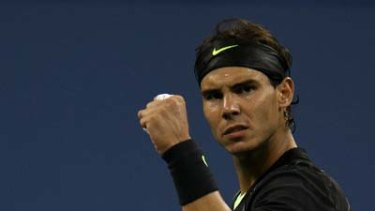 Seeking to win four consecutive grand slam titles ... Rafael Nadal.