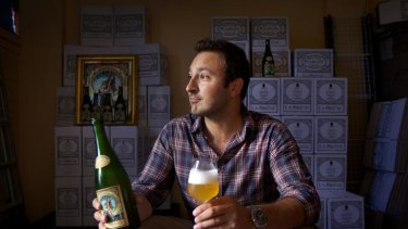 Brewer Costa Nikias traced his saison beer recipe to a village in northern France.