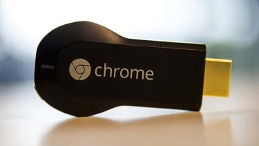 """Google Chromecast: """"A natural extension of all of the devices in your house""""."""