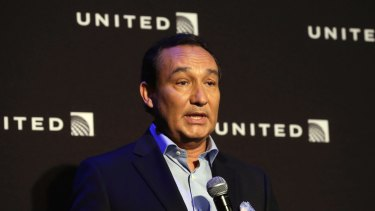 United chief Oscar Munoz came under heavy fire for his initial reaction to the incident.