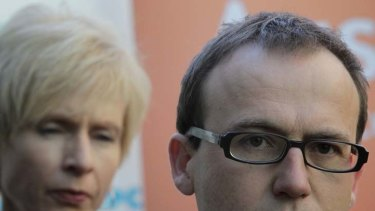 Condemnation motion ... Greens MP Adam Bandt.