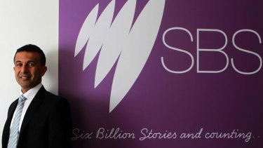 Managing director of SBS, Michael Ebeid.