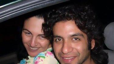 Chloe Papazahariakis, on her Facebook page with Puneet Vasistha.