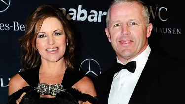 Former All Blacks captain Sean Fitzpatrick, pictured with wife Bronwyn, will front the controversial ad campaign.