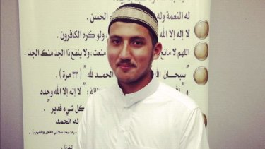 Ahmas Moussalli, who died in mysterious circumstances in Syria.