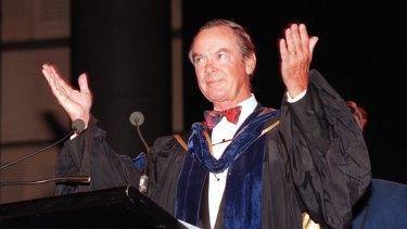 Former Knox Grammar headmaster Ian Paterson.