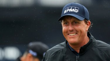 Gulf champion Phil Mickelson Mickelson made roughly $US1 million trading Dean Foods shares, which he had agreed to forfeit in a related civil case.
