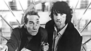 A scene from In The Name of the Fathre. Daniel Day-Lewis, right, played Conlon.