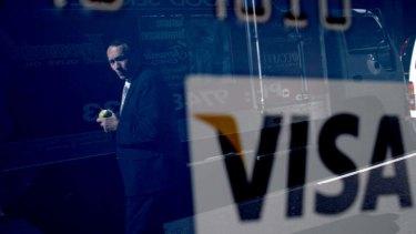 Conversion: Visa is under pressure.
