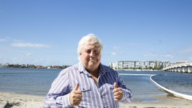 A number of sources have confirmed Clive Palmer has given serious consideration to a tilt for the Senate amid doubts he will hold on to his lower house Sunshine Coast seat of Fairfax.