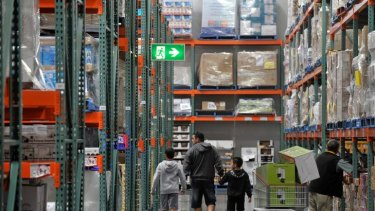 Costco entered Australia in 2009 with this warehouse store at Docklands.