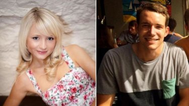 Hannah Witheridge and David Miller.