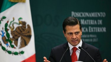 Mexican President Enrique Pena Nieto cancelled his meeting with Donald Trump after he tweeted.