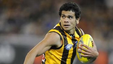Cyril Rioli has been sidelined with groin soreness.
