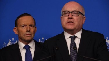 Prime Minister Tony Abbott and Attorney-General Senator George Brandis on section 18 C of the Racial Discrimination Act.