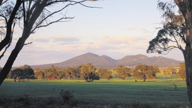 The 350-million-year-old You Yangs ranges.