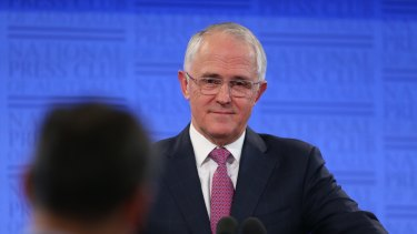 Prime Minister Malcolm Turnbull in Canberra on Thursday.