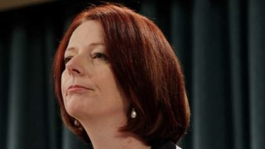 Julia Gillard is enduring a series of embarrassing leaks that  have rocked Labor's re-election campaign.