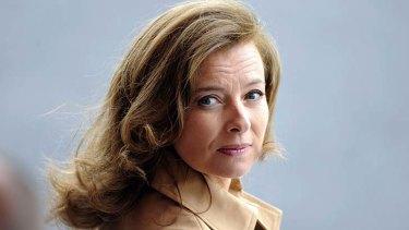 Valerie Trierweiler ... Francois Hollande's partner.