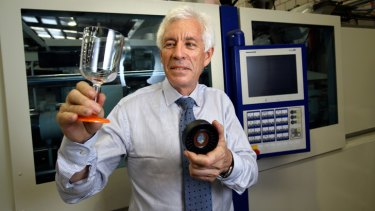 Robert Wilson's Victorian company Palm Products has been reducing its reliance on the car industry. It now also makes designer drinking glasses.