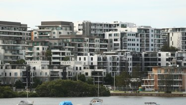 There has been a jump in the number of smaller dwellings approved in NSW, going against a national trend.