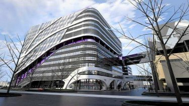 An artist's impression of the Victorian Comprehensive Cancer Centre (VCCC) Project.