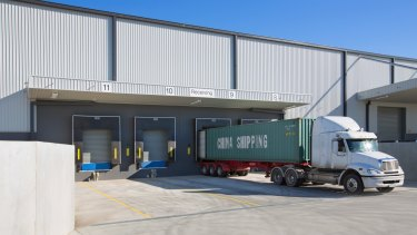 Easy access: Kathmandu's warehouse distribution centre in Laverton North is a model of design.
