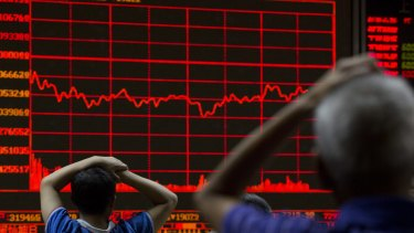 """""""This is a high-magnitude event for financial markets."""": Global shares fell dramatically on Friday."""