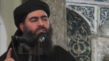 ''If you want an honorable life, fight jihad in the name of God,''  Abu Bakr al-Baghdadi preached.