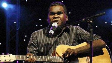 """Geoffrey Gurrumul Yunupingu, photographed by <a href=""""http://www.helenpage.com.au/"""">Helen Page</a>"""