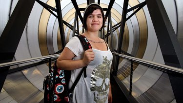 Graduate: Kirsty Broadfoot has found a new purpose in life at the Education First Youth Foyer.