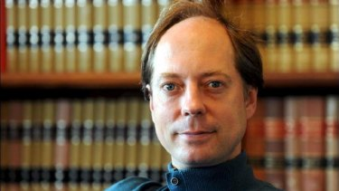 University of Queensland Professor of Law and author of The Law of Politics, Graeme Orr.
