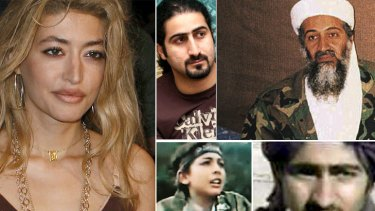 The bin Laden clan ... Wafah Dufour and Omar dreamed ofmaking it in the west, while Hamza and Saad, bottom, followed in father's footsteps.