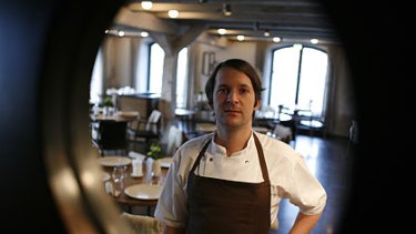 Rene Redzepi ... a huge journey to the heights of gastromic excellence, and he's only 25.