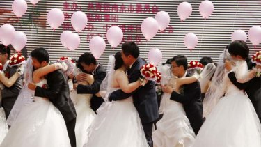 Not for money ... the Chinese government is making it harder for women to marry men for their financial wealth.