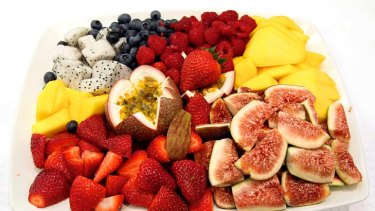 Eat a rainbow ... brightly-coloured fruit and vegies are rich in phytochemicals.