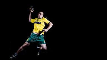 Callum Mouncey has been selected for the Australian handball team.