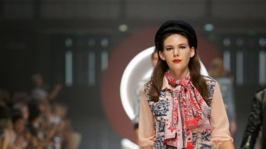 Jean Paul Gaultier for Target runway show at the Melbourne Fashion Festival.