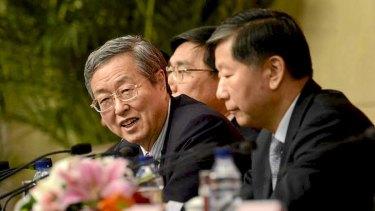 People's Bank of China chief Zhou Xiaochuan.