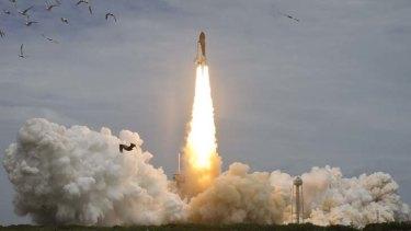 Space shuttle Atlantis.