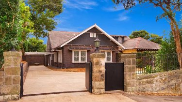 Sold post auction ... the McMahon family home.