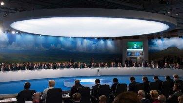Big talks: The NATO Summit in Newport, Wales.