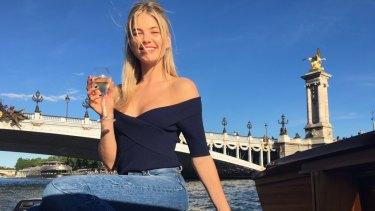 Megan Irwin in Paris.