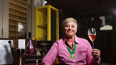 Jayne Powell has finally won approval for her Champagne Jayne trademark.